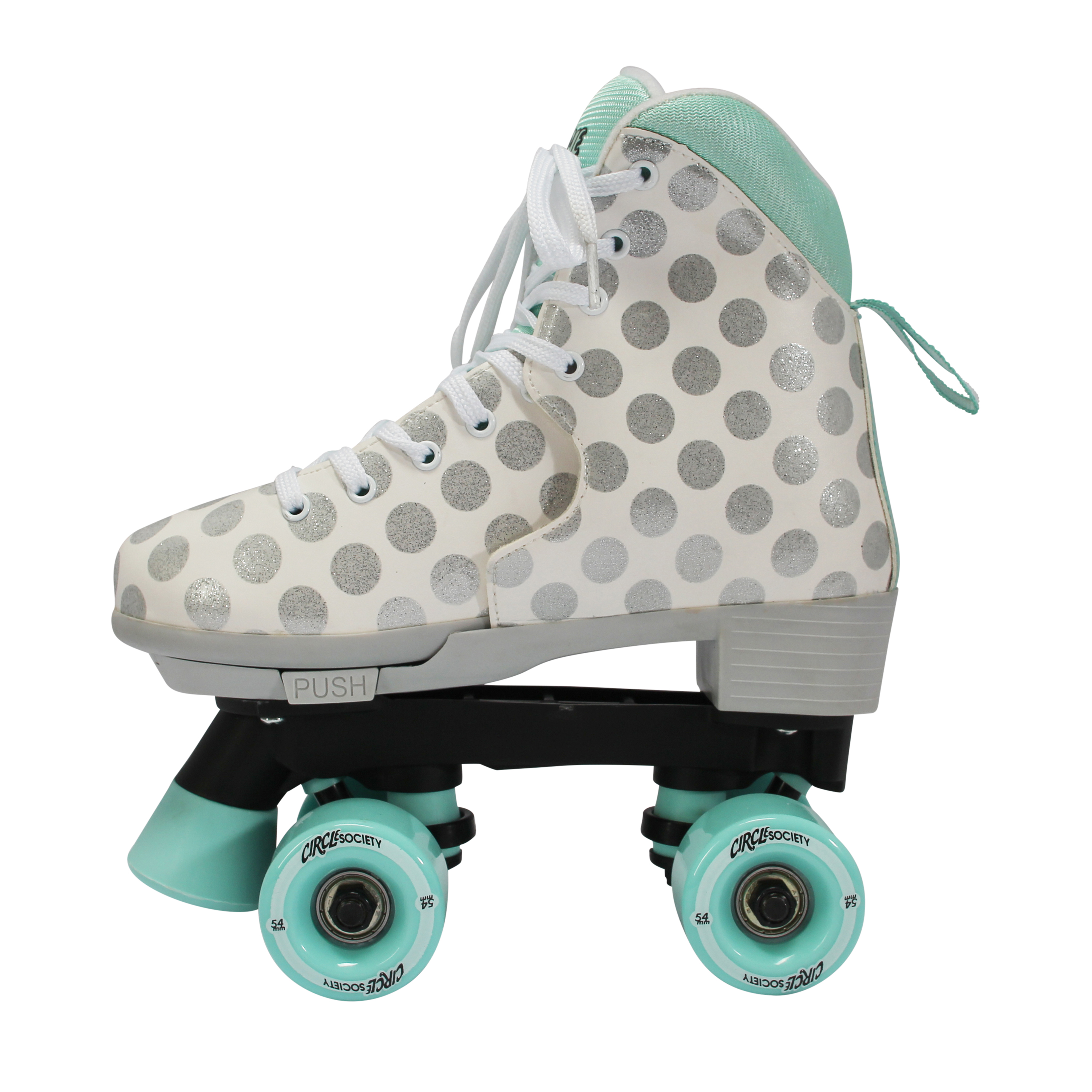 Circle Society Classic Adjustable Indoor and Outdoor Childrens Roller Skates Craze Sugar Drops