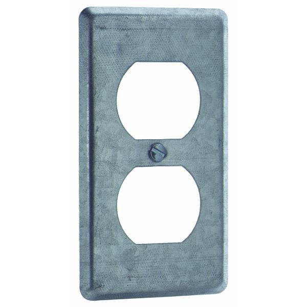 Steel City Duplex Receptacle Handy Box Cover