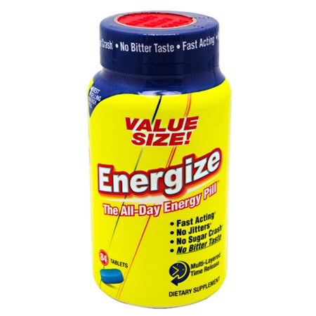 Isatori Energize All Day Energy Pill  Tablets  84 Count