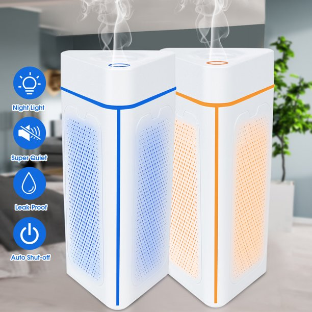 7 Color LED Lights Cool Mist Humidifier - Best Air ...
