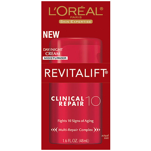 L'Oreal Paris Revitalift Clinical Repair 10 Day/Night Cream Moisturizer, 1.6 oz