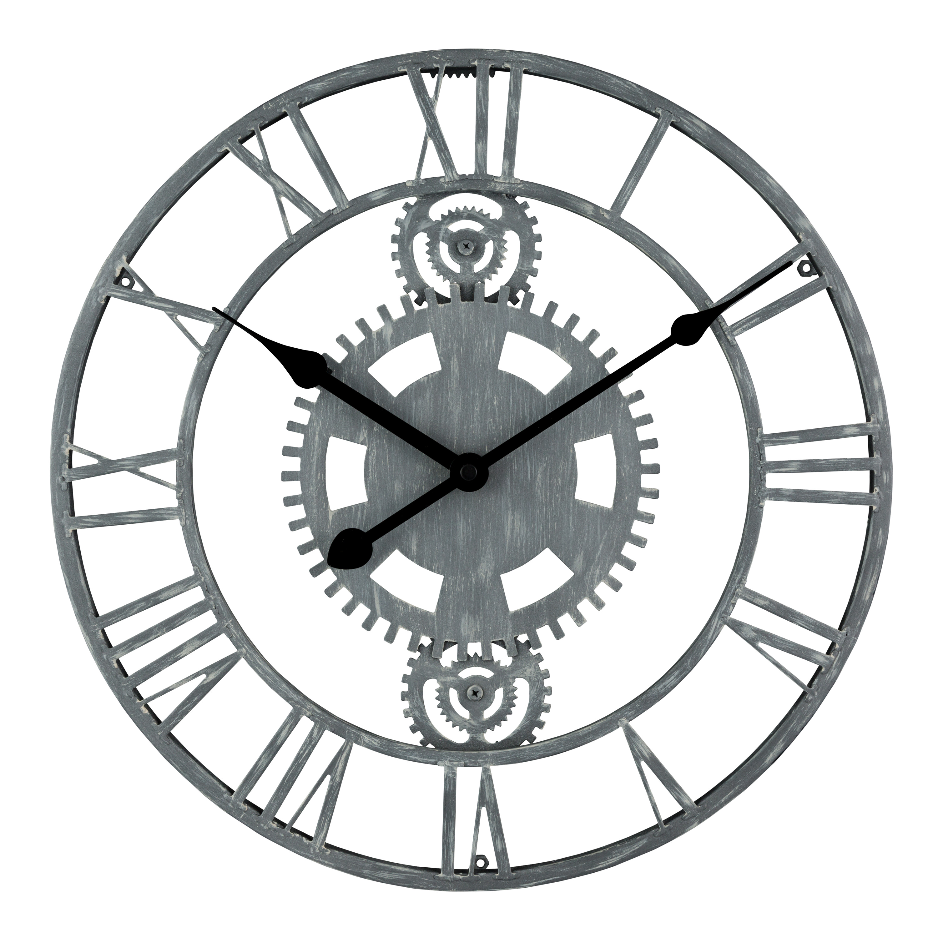 Better Homes & Gardens Metal Industrial Clock