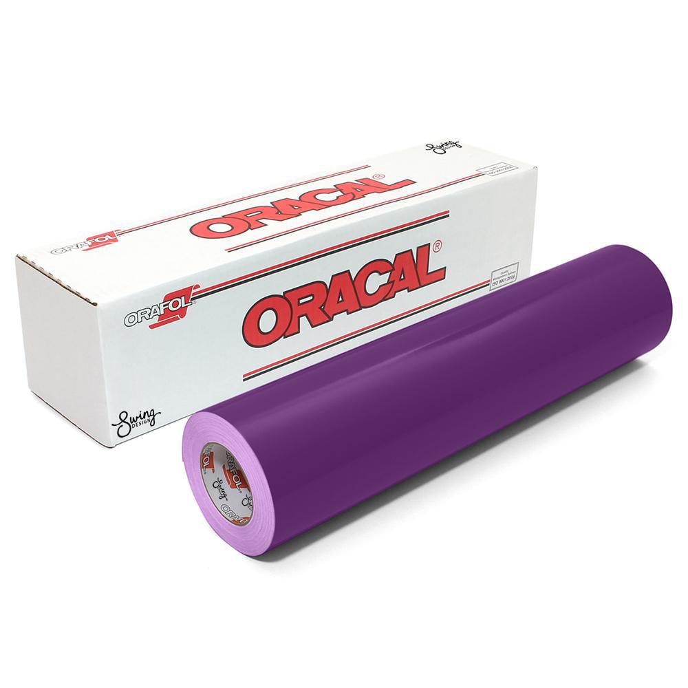 Oracal 651 Glossy Vinyl Rolls - Violet