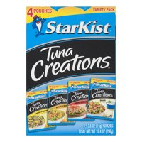 StarKist Tuna Creations® Variety Pack - 2.6 oz Pouch (4-Pack)