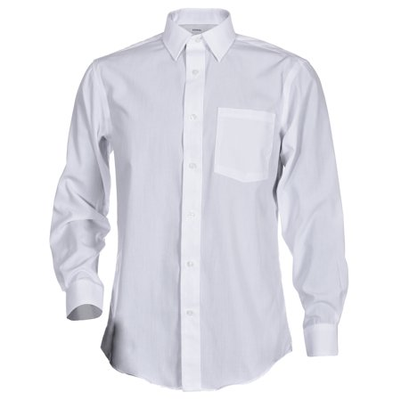 George Men's Long Sleeve Poplin Solid Button-Up Classic Fit & Slim Fit Dress Shirts - Dress Up Ideas Men