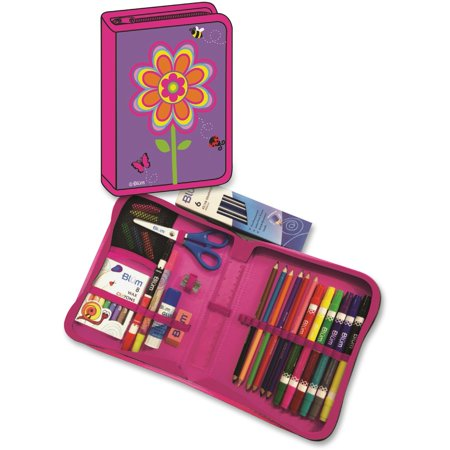 - Blum, BUM26011676, Flower K-4 School Supply Kit, 1 Kit, Bright Assorted