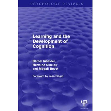 Learning and the Development of Cognition (Psychology ...
