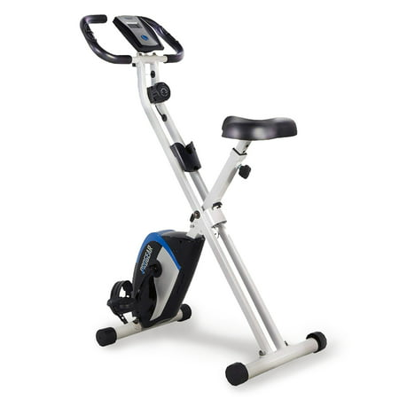 ProGear 225 Folding Magnetic Upright Exercise Bike with Heart