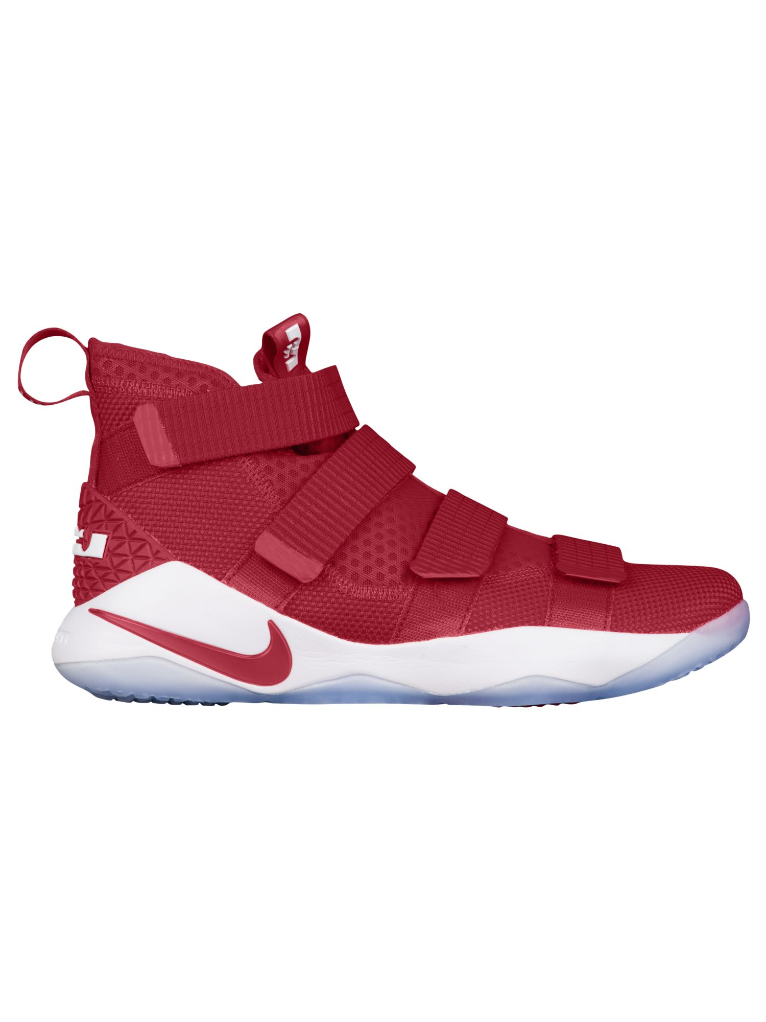 finest selection bfebf 89128 ... wholesale nike lebron soldier 11 mens basketball shoes james lebron gym  red white 061eb fa935