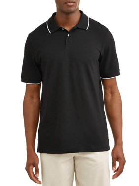 3bb801d3 Product Image George Pique stretch polo, up to size 5xl