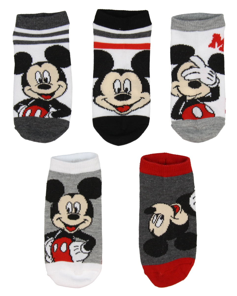 6-8 Disney Cars 3 Boys/' Kids Character Ankle No Show Socks 6 Pairs