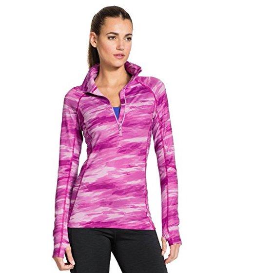 d12871c9e9 Under Armour Women's UA ColdGear Cozy Printed 1/2 Zip Mock Shirt