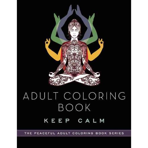 Adult Coloring Book Keep Calm