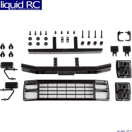 Associated 41080 CR12 Ford F150 Grill & Accessories Set black ()