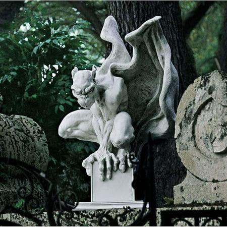 """10"""" Gothic Winged Mystical Gargoyle Statue Sculpture Figurine"""