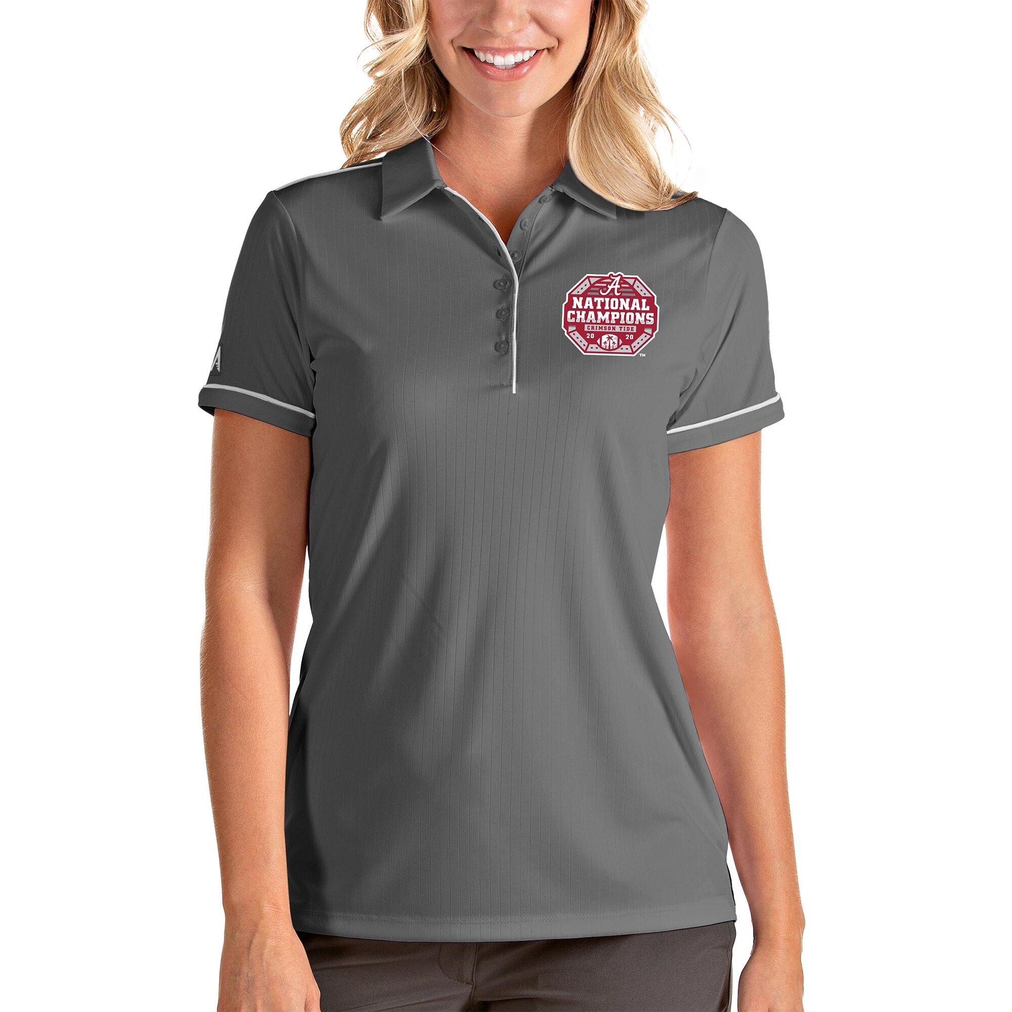 NCAA Alabama Crimson Tide Spark Polo Womens