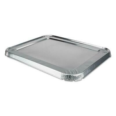 Edge Foil (Foil Lids, 10 9/16w x 5/8d, Safety Edge, Silver, 100/Carton)