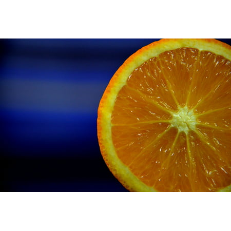 Framed Art For Your Wall The Rays Fruit Slice The Colour Of The Orange 10x13 Frame (Slice The Fruit)