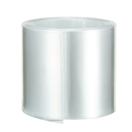 PVC Heat Shrink Tubing Tube 43mm Battery Wrap for 18650 Battery 2M Clear ()