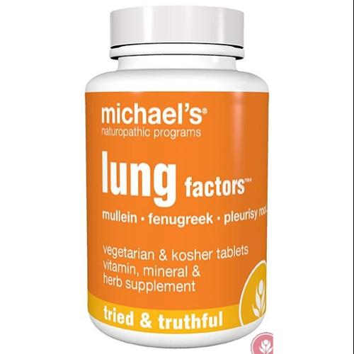 Lung Factors Michael's Naturopathic 60 Tabs