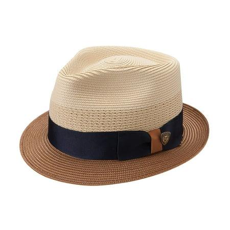 Stetson & Dobbs DSCAMO-3416 Men's Camarillo Straw Hat, Sand - M ()