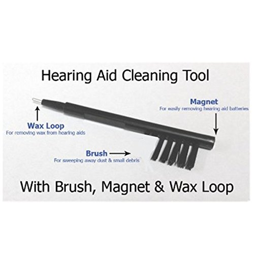Loyalnanmu Hearing Aid Cleaning Brushes-2 Packs
