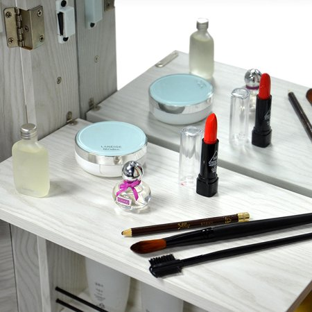 SortWise™ Jewelry Armoire Lockable Door Mounted Jewelry Cosmetic Mirror Storage Organizer - image 3 of 8