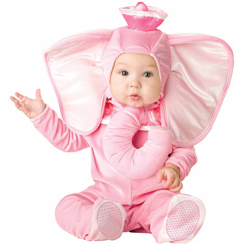 Pink Elephant Infant Halloween Costume