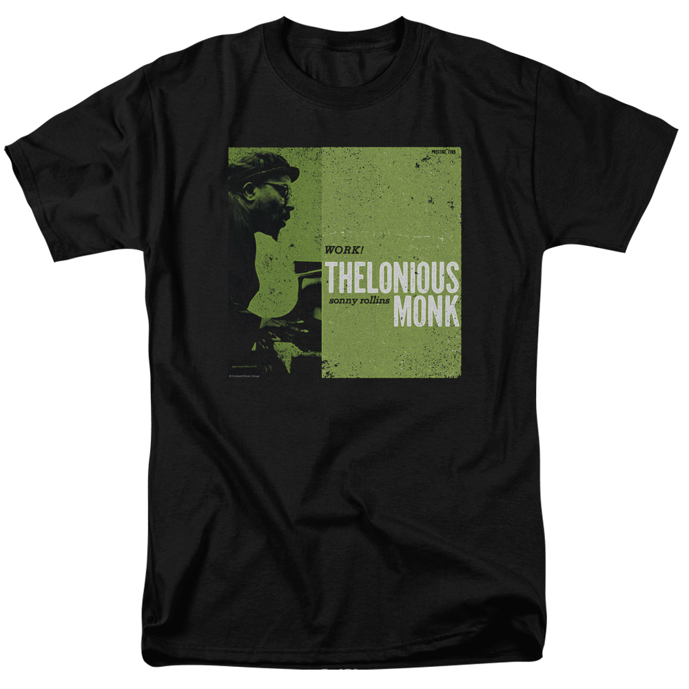 THELONIOUS MONK/WORK-S/S ADULT 18/1-BLACK-3X