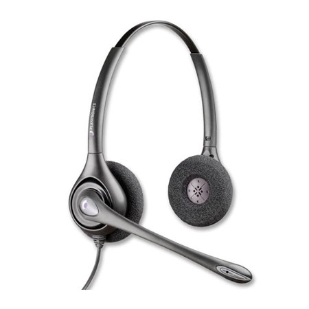Plantronics Corded Telephone (Plantronics SupraPlus HW261N Stereo Corded Headset for PC & VoIP Phones )