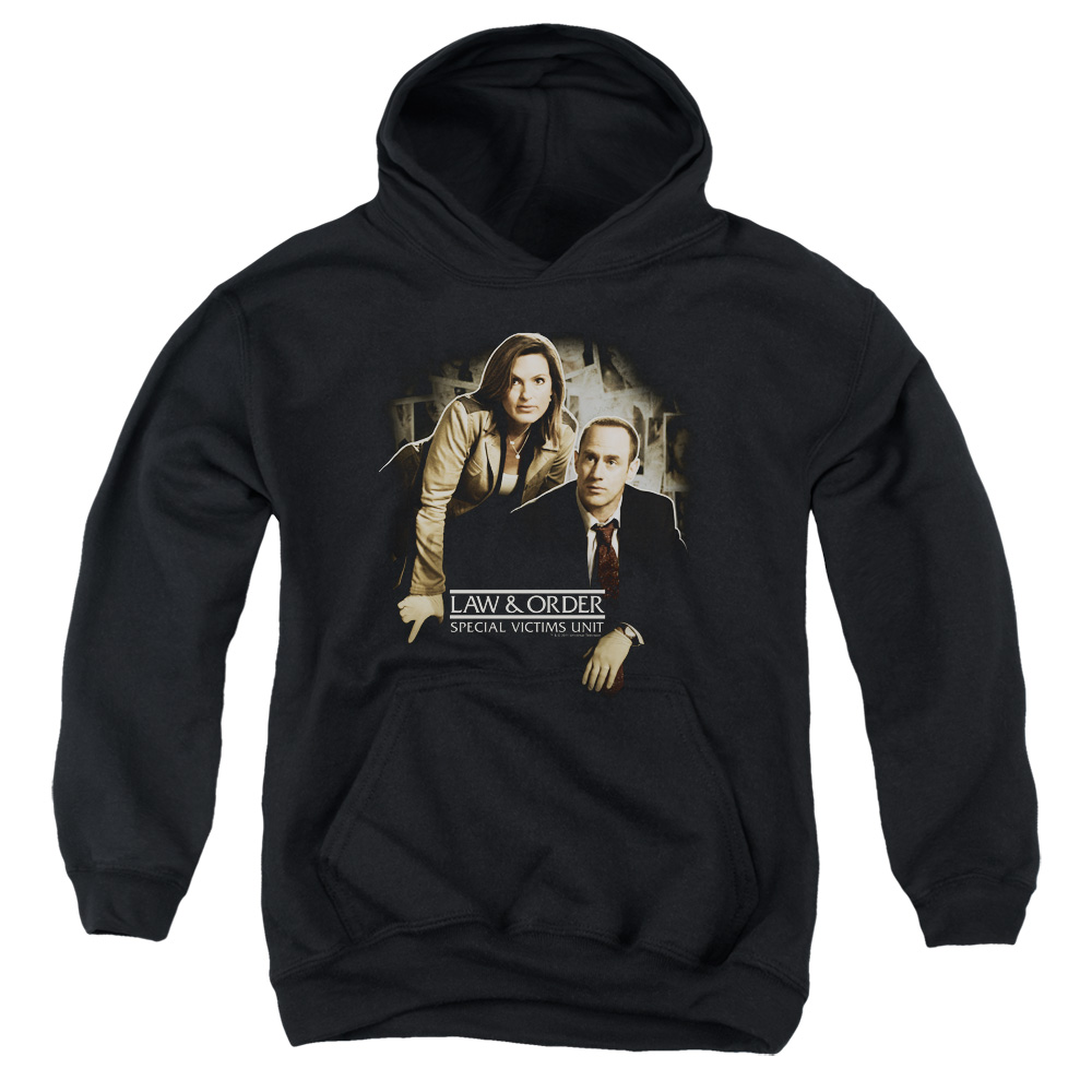 Law & Order:SVU Helping Victims Big Boys Pullover Hoodie