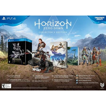 Horizon Zero Dawn Collectors Edition  Play Station 4