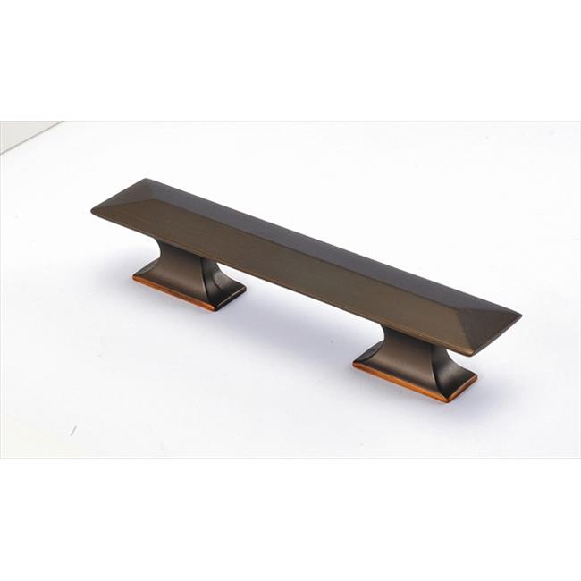 Hickory Hardware P2153-RB 3 inch and 96mm Bungalow Refined Bronze Cabinet Pull