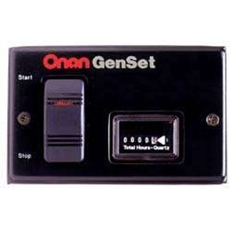 Long Gun Remote Switch - Cummins Onan (300-5332) Remote Switch and Hour Meter