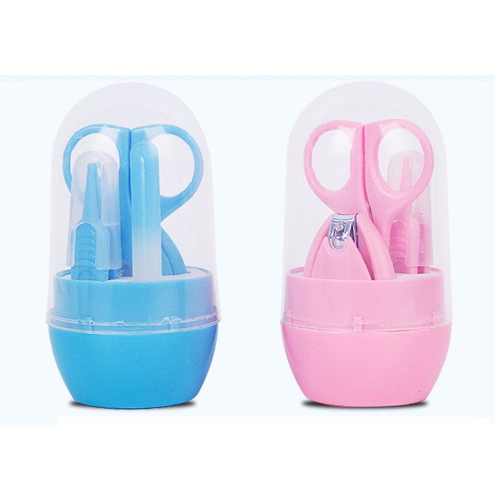 CBD Infant, Toddler, Little Baby Nail Scissors Kit 4 in 1 (Blue)