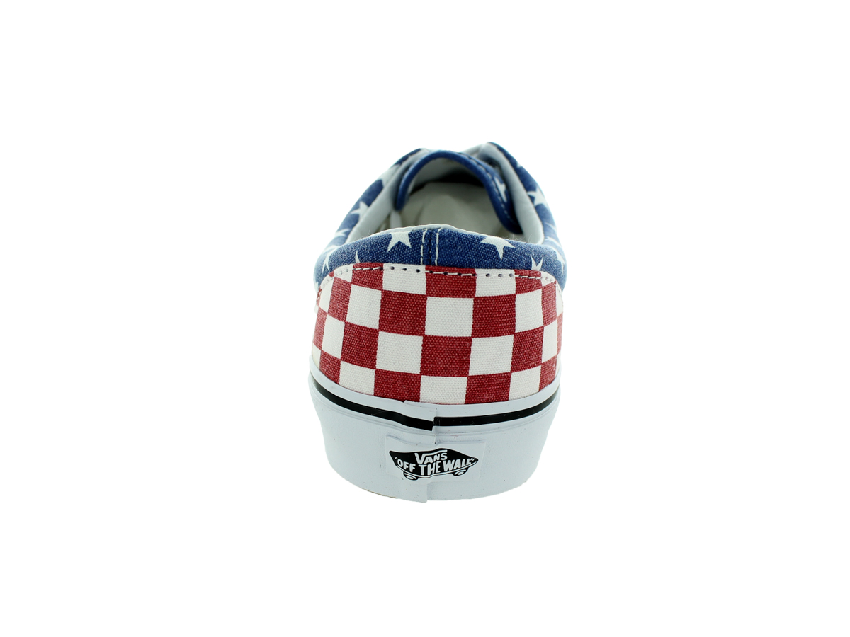 Vans Era 59 Van Doren Stars And Stripes Red / White Blue Ankle-High Canvas Fashion Sneaker - 11M 9.5M