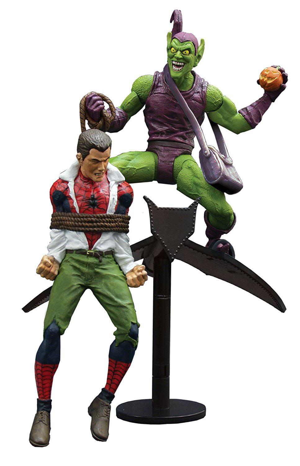 Diamond Select Marvel Select Classic Green Goblin vs Spider-Man by