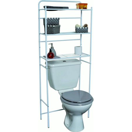Over the toilet storage walmart small bathroom cabinets for Bathroom cabinets over toilet walmart