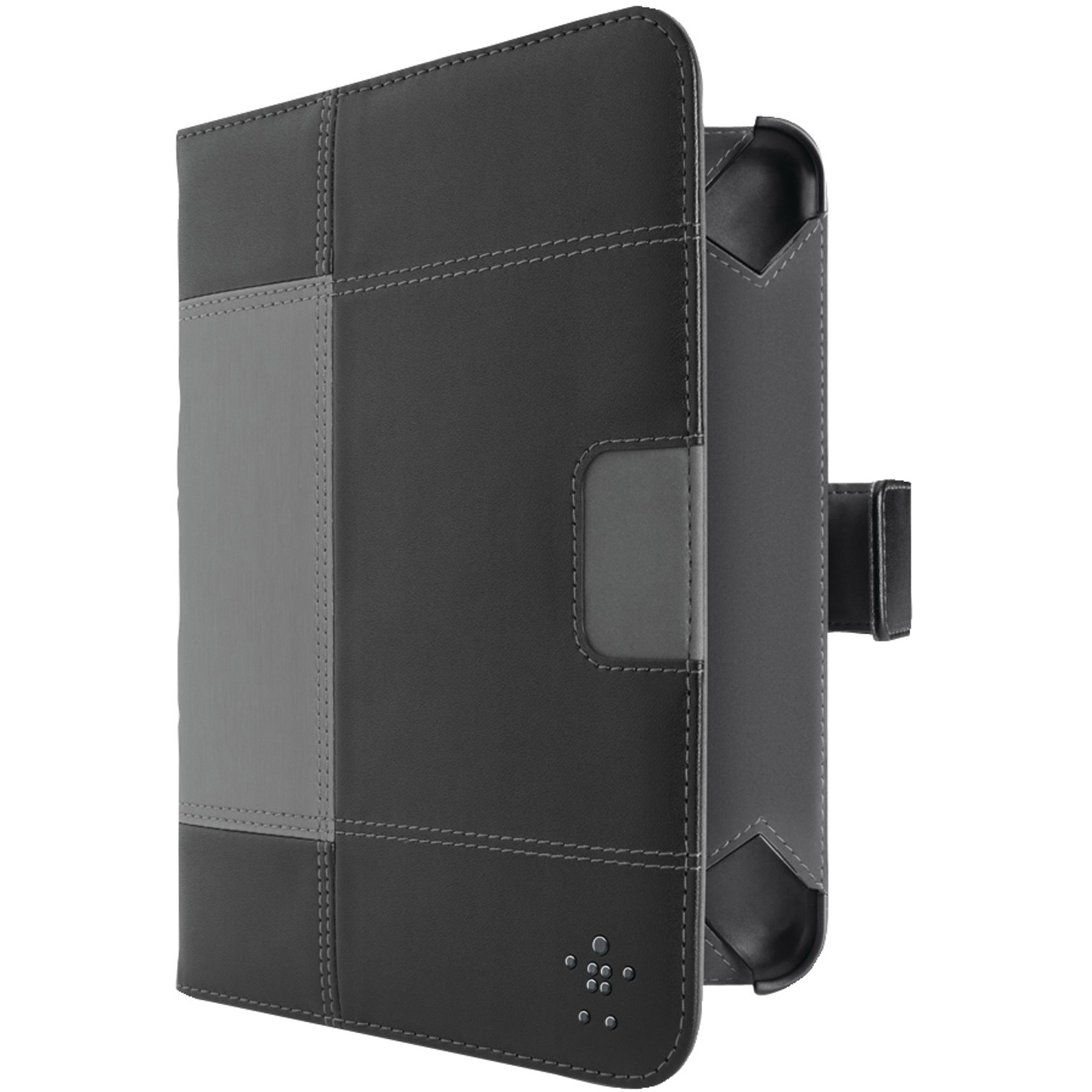 Kindle Fire HD 7 In. Glam Tab Cover with Stand - Black