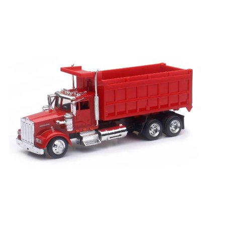 1:43 Scale Die-Cast Utility Truck, Red Dump Truck 24 Red Die Cast Car