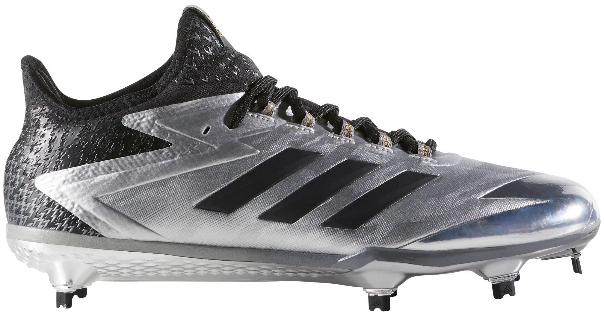 d194104b992 adidas Men s adizero AfterBurner 4 Faded Baseball Cleats (Silver Black