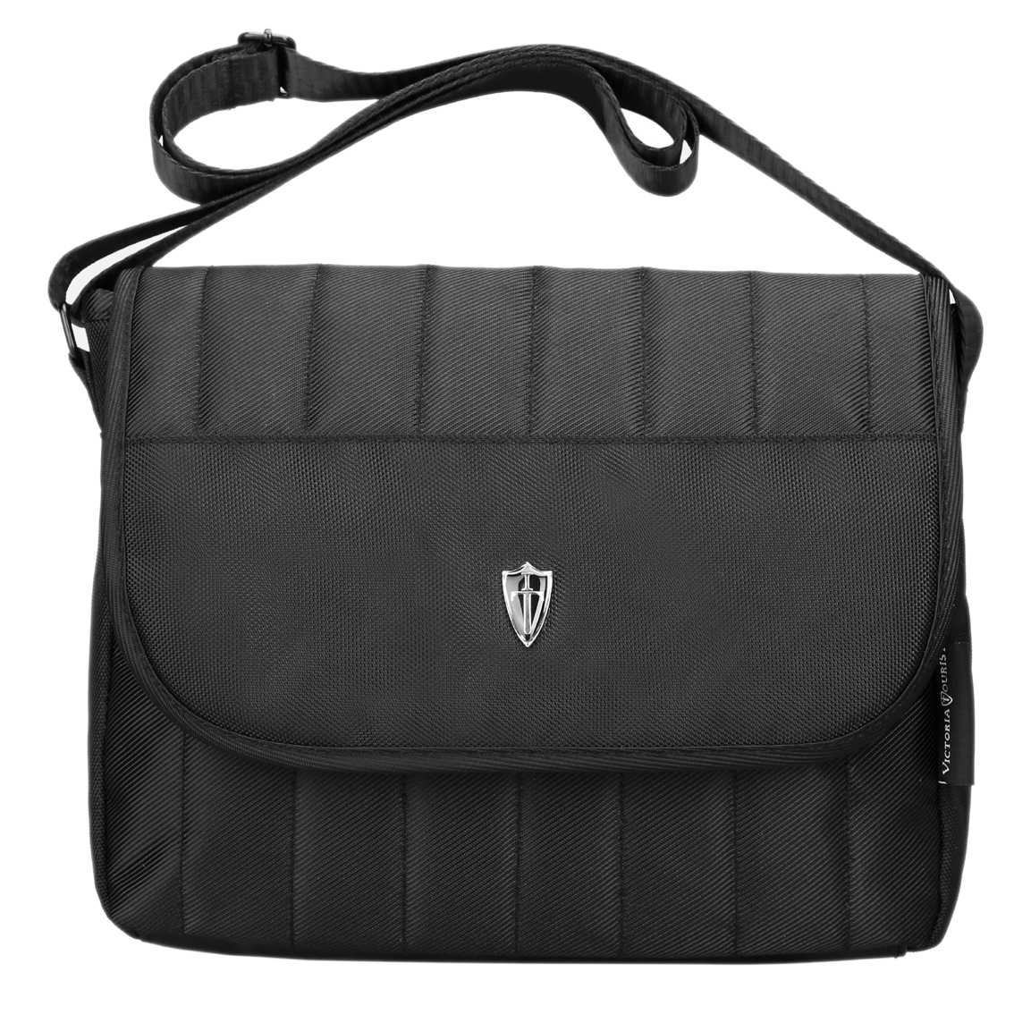 "Victoriatourist V3006 Shoulder Messenger Bag for iPad/Tablet Upto 10.1"", Black"