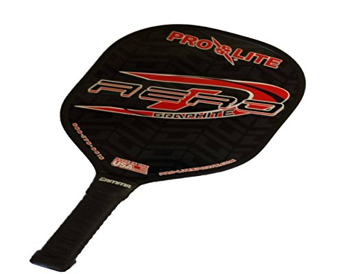 Pro Lite Aero-D Graphite Pickleball Paddles (Red)
