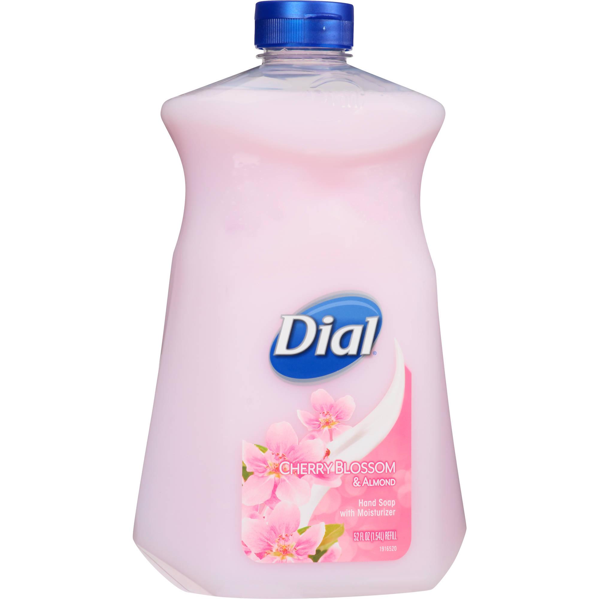 Dial Cherry Blossom & Almond Refill Hand Soap, 52 oz