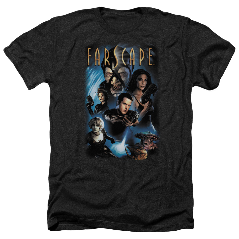 Farscape Comic Cover Mens Heather Shirt