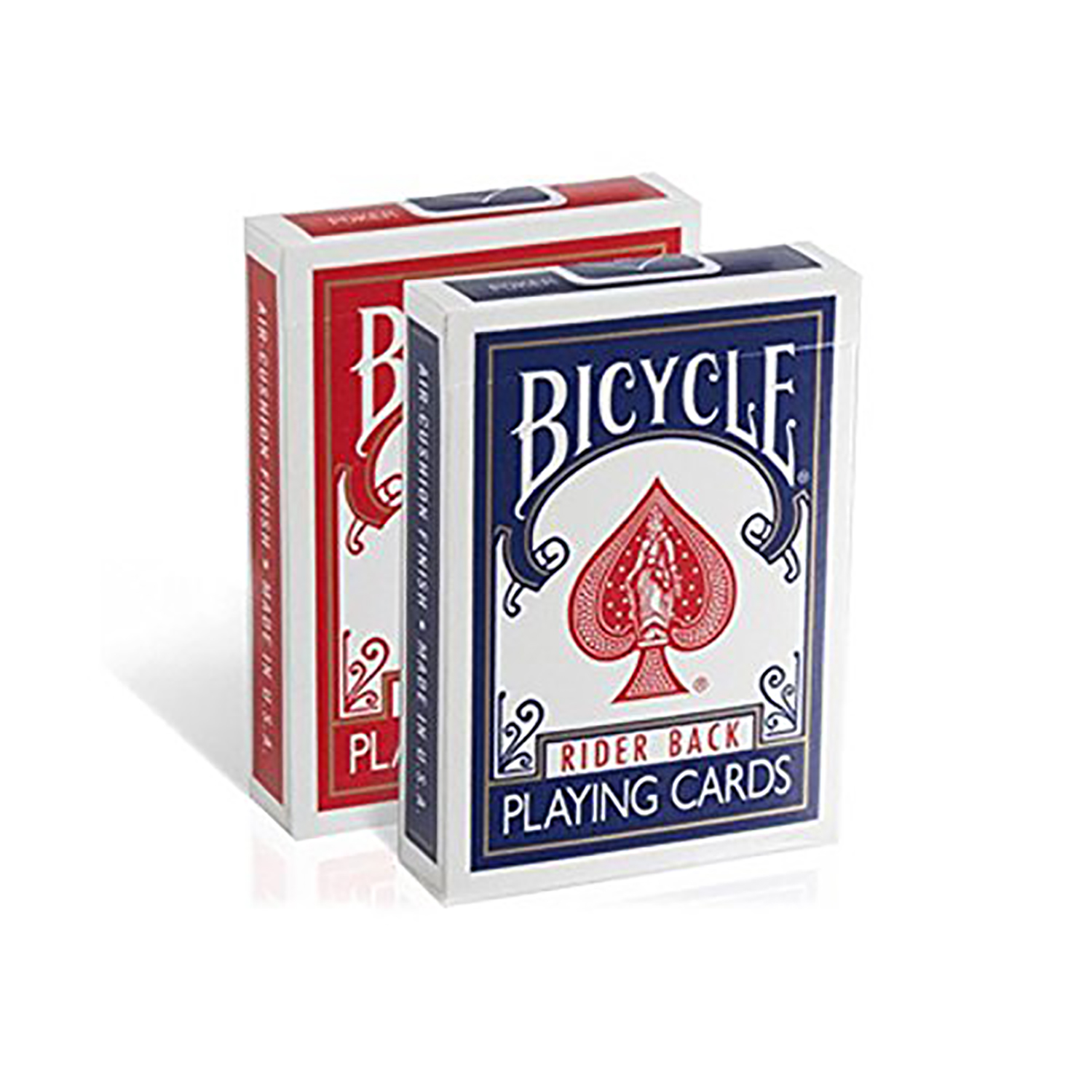 Poker Size Standard Index Playing Cards Packs in Bulk Wholesale (Pack of 4) by Bicycle