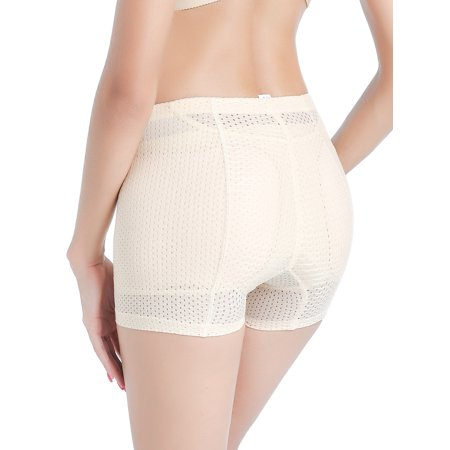 985e530658 SAYFUT - SAYFUT Womens Butt Lifter Panties Shapewear Padded Body Shorts  Enhancer Hip Shaper Panty Underwear Black White - Walmart.com