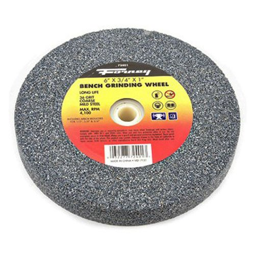 72401 Bench Grinding Wheel Vitrified With 1 Inch Arbor