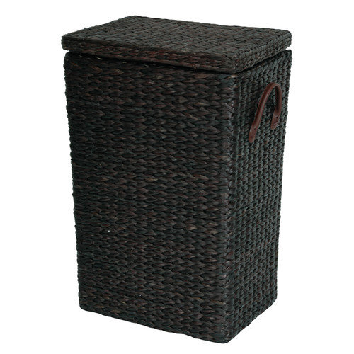 Oriental Furniture Rush Grass Laundry Basket