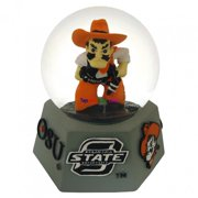 paragon innovations oklahomastateic oklahoma state university mascot in a musical water globe